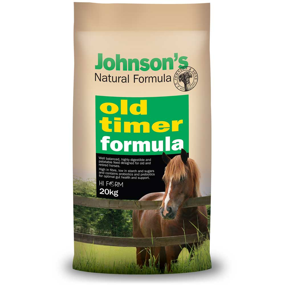 Jonhson's Natural Formula Old Timer 20kg *instore pickup only*
