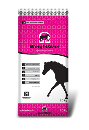 Omega Weight Gain 20kg *pickup instore only*