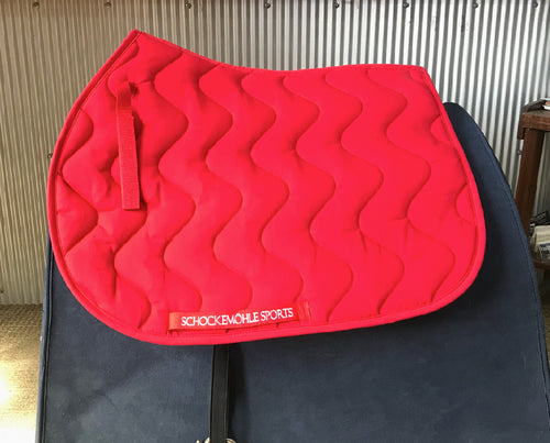 Schockemohle Sports Jumping Pad Red