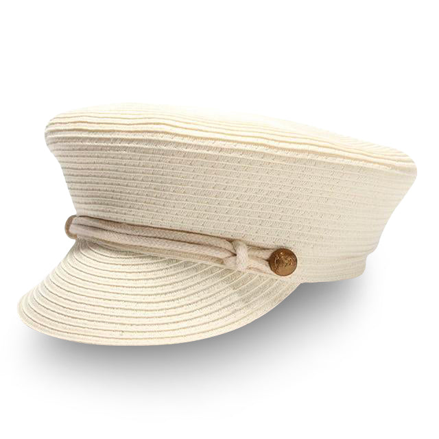 Straw Nautical Hat