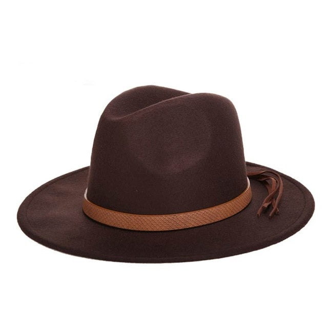 Classical Wide Brim | Fedora Hat