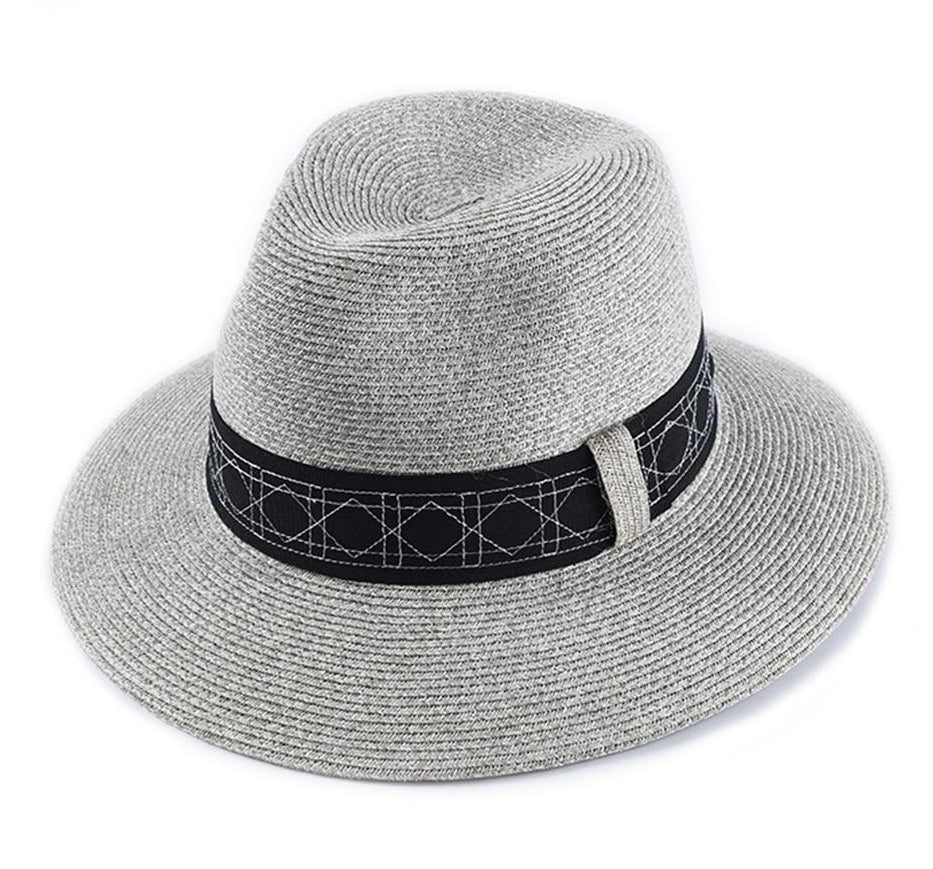 Black Band Sun Hat