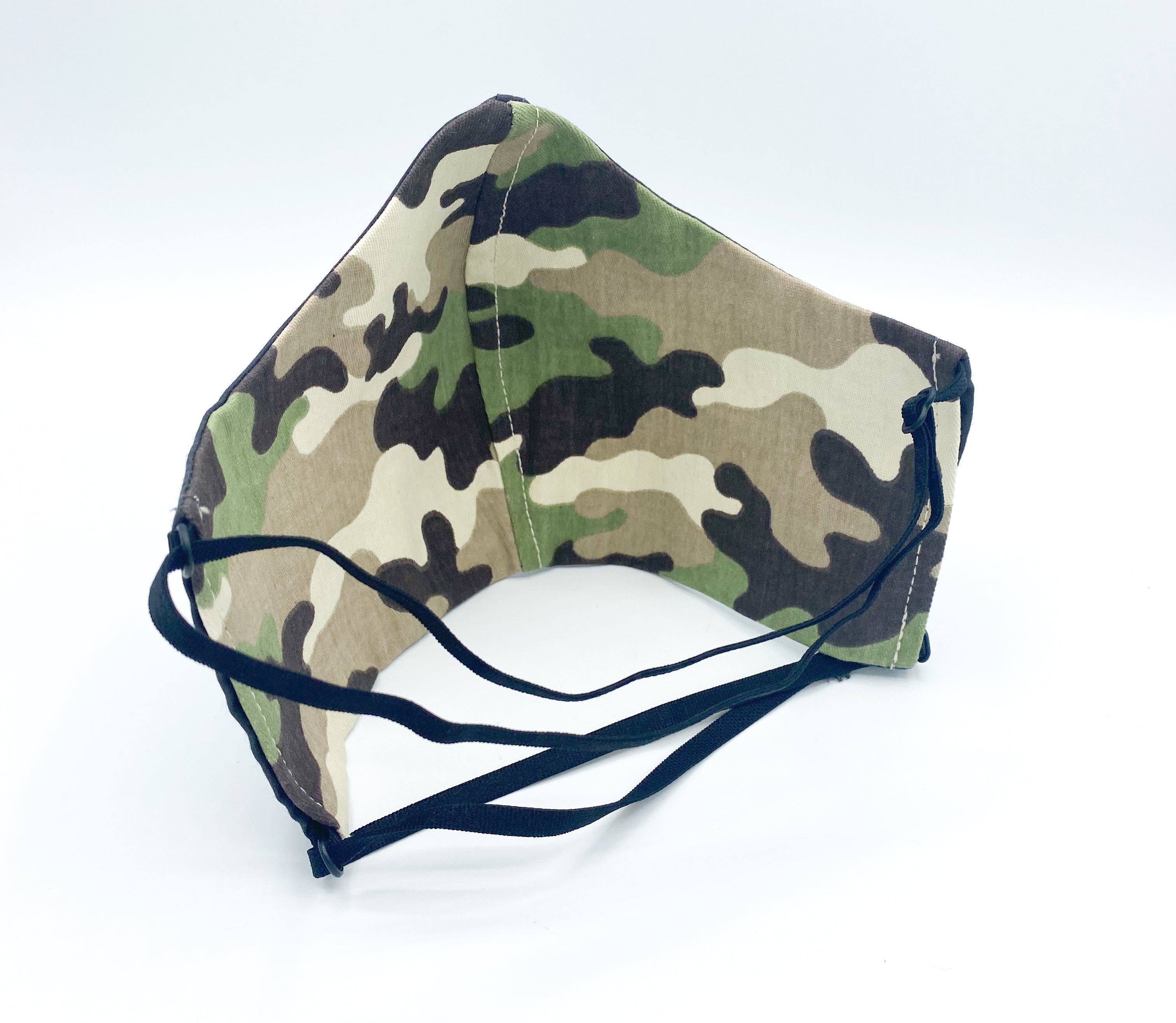 Reversible Camo - 2 Masks for the Price of 1! Camo & Dark Gray
