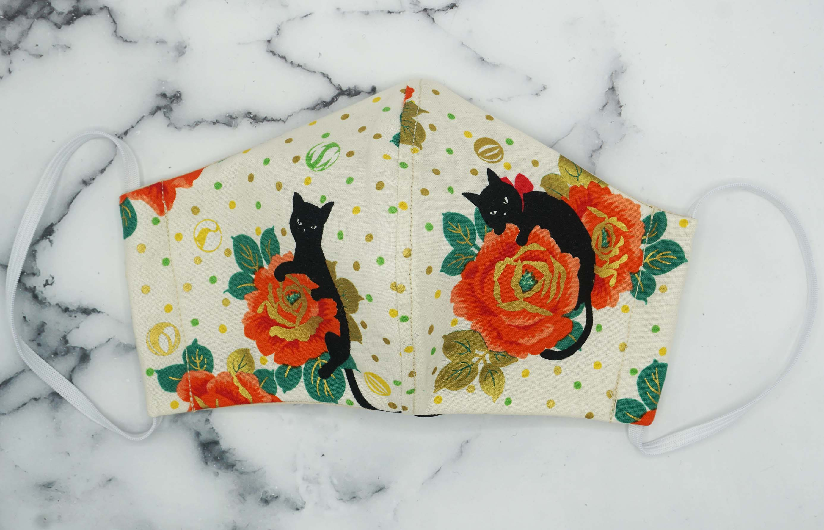 Fall Floral Cats- Number 1 Seller- Limited Fabric Left