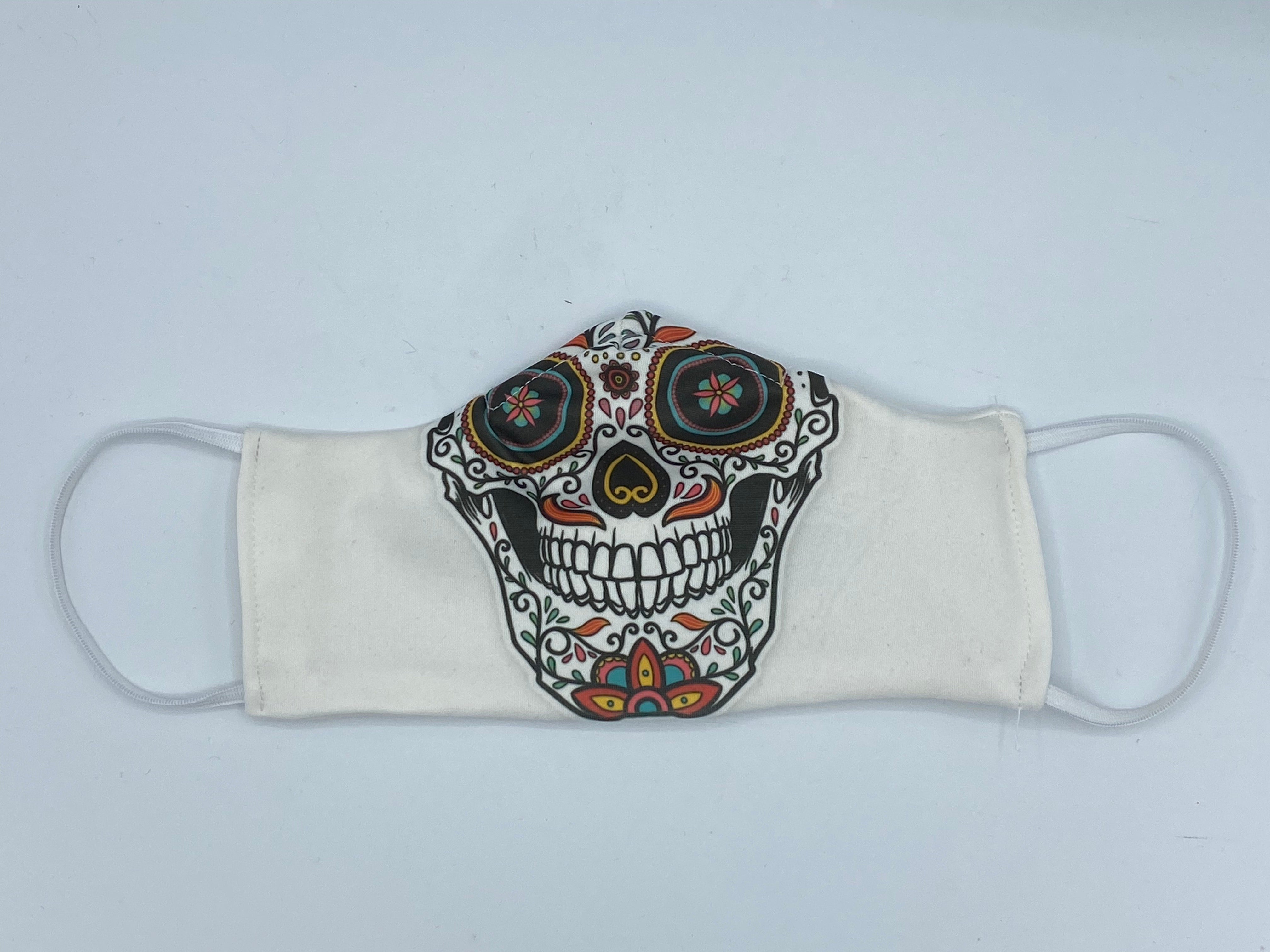 SUGAR SKULL IN WHITE-Sold Out!!