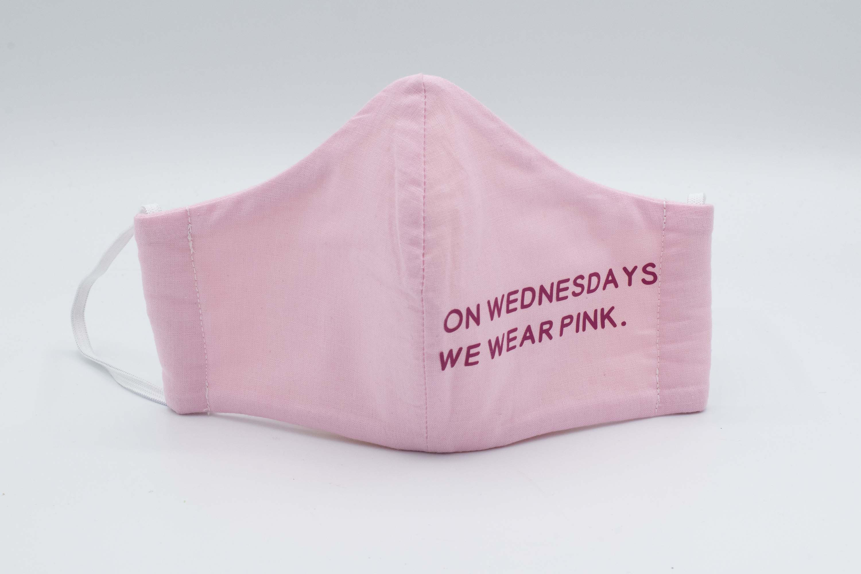 On Wednesday's We Wear Pink Mask