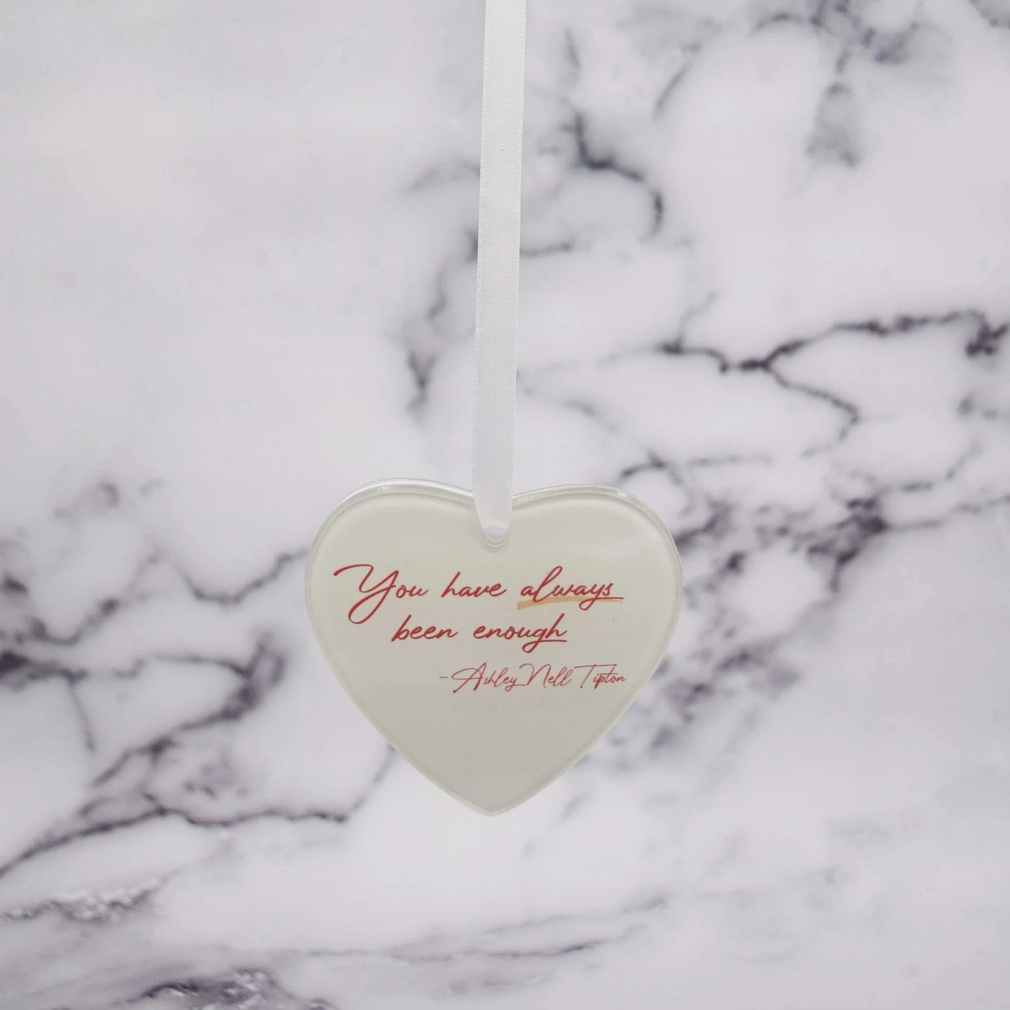 "LOVE ""YOU"" Holiday Ornament"