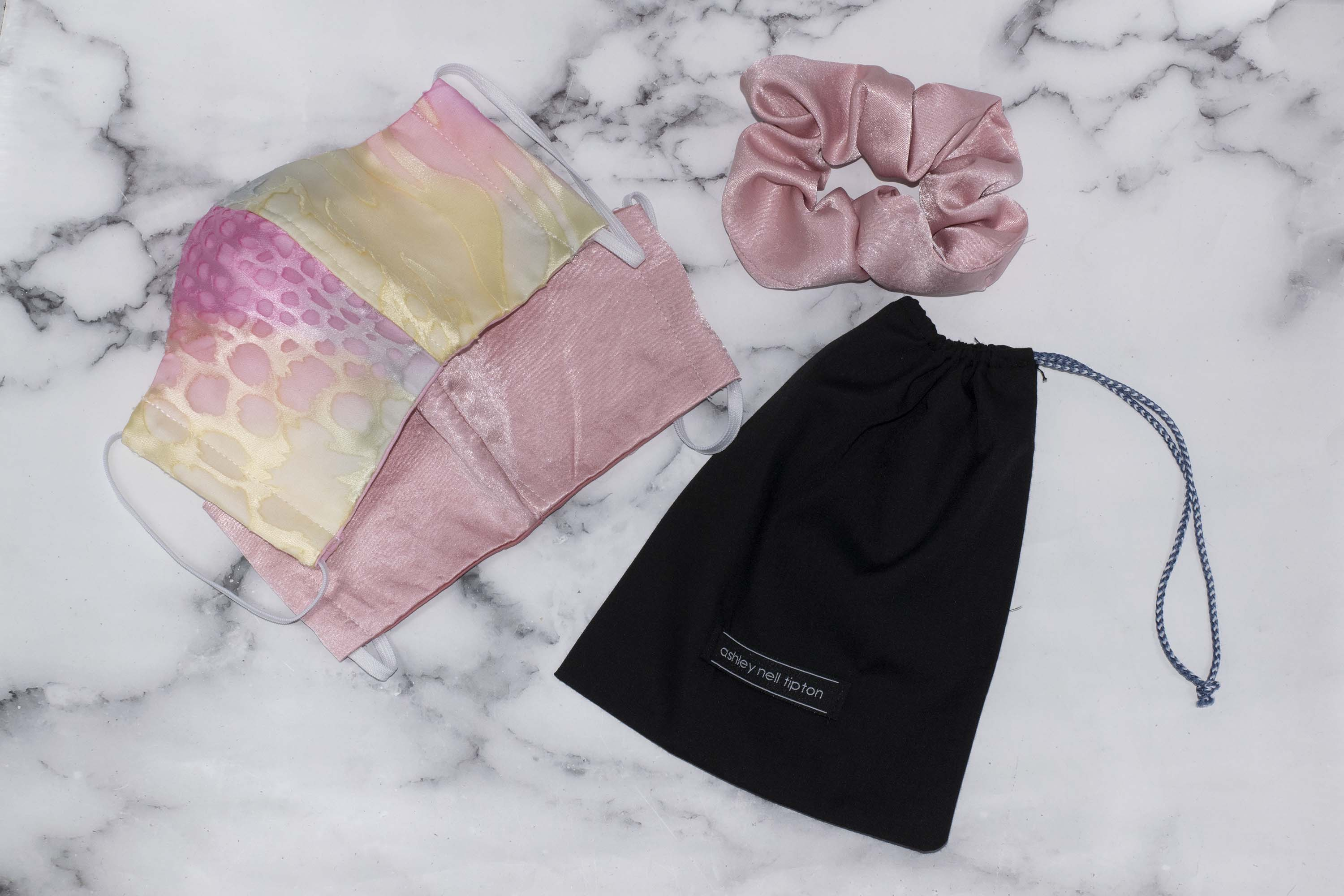 "The ""Pretty in Pink""  Bundle- Featuring our Satin Mask and Chiffon Mask!"