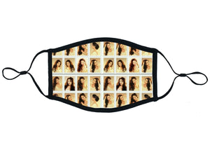 Open image in slideshow, Portraits of Selena Face Mask