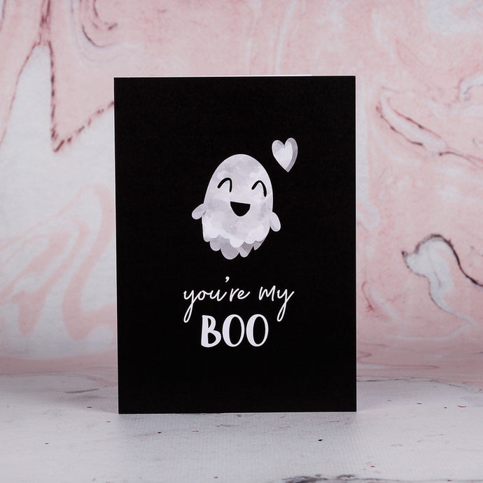 You're My Boo Greeting Card - Bee Kinder, Greeting Cards, vegan soy candle