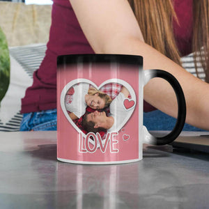 Custom Color Changing Mug - Valentines Edition - Monogram That