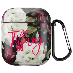 Custom Airpod Case - Floral - Monogram That