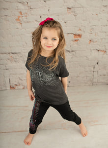 Gymnast Outbreak Blinged Tee - Monogram That