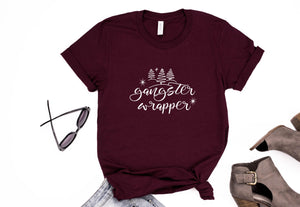 Gangster Wrapper Christmas Tee - Monogram That