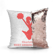Custom Sequin Pillows - Monogram That