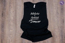 Athlete + Artist = Dancer Work Out Tank - Monogram That