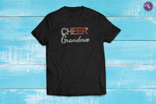 Cheer Grandma Rhinestone Fade Unisex Tee - Monogram That
