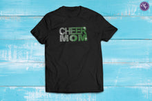 Rhinestone Cheer Mom Fade Unisex Tee - Monogram That