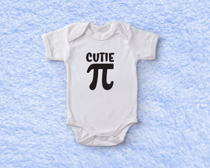 Cutie Pie Baby Onesie - Monogram That