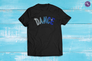 Dance Arch Rhinestone Unisex Tee - Monogram That