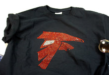 Falcon Eagles Rhinestone Unisex Team Tee - Monogram That