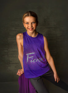 Fierce Tie Back Tank - Monogram That