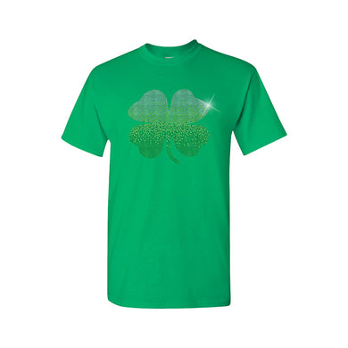 Rhinestone Shamrock Tee - Monogram That