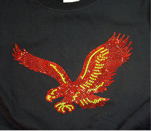 Red Hawks/Eagles Rhinestone Unisex Team Tee - Monogram That