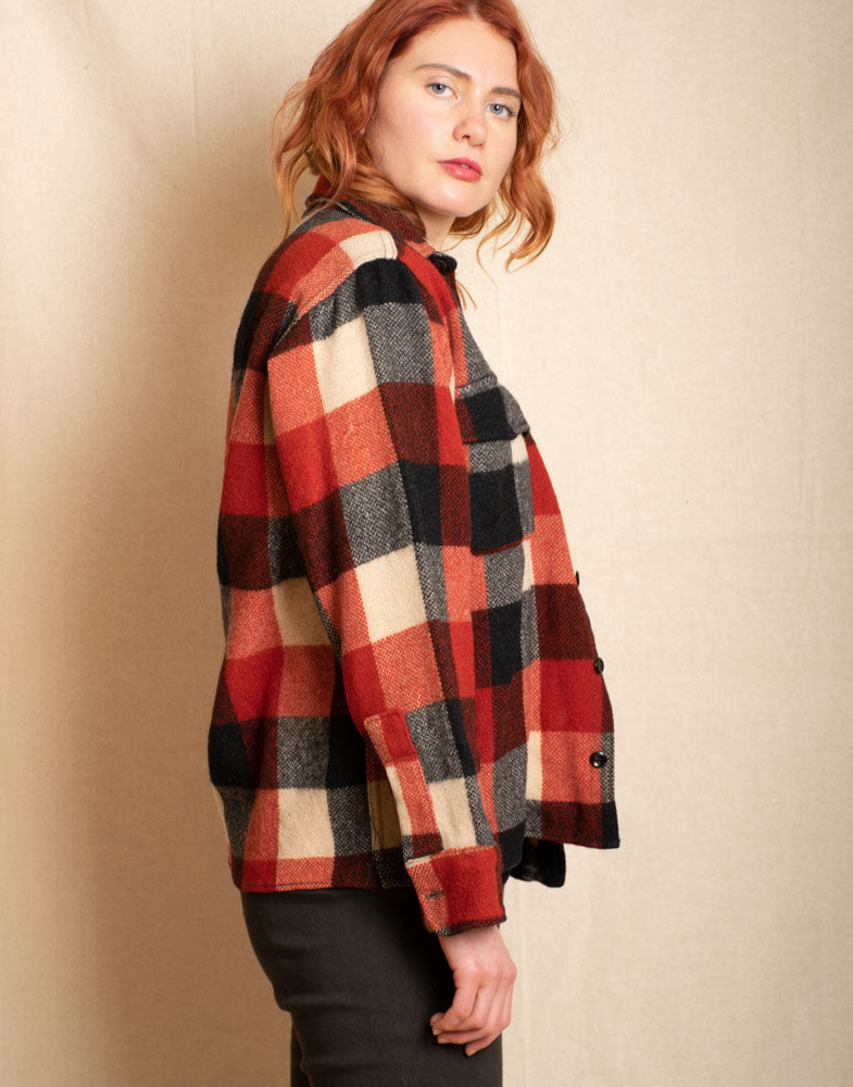 Heavy Wool Flannel Shirt