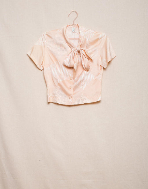 Cropped Blush Blouse