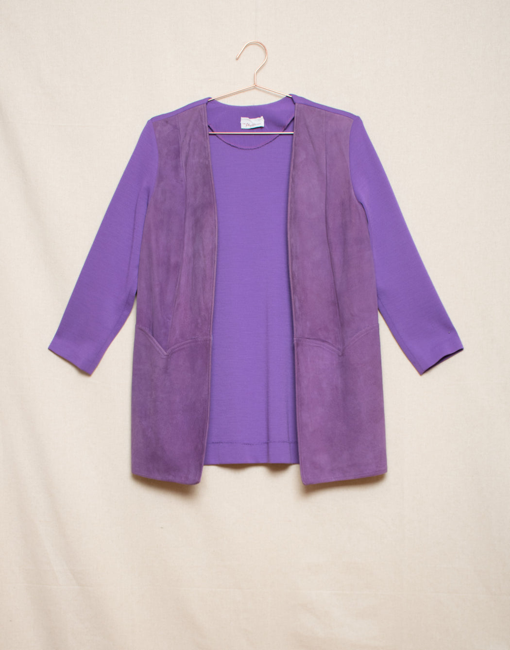 Purple Suede Jacket
