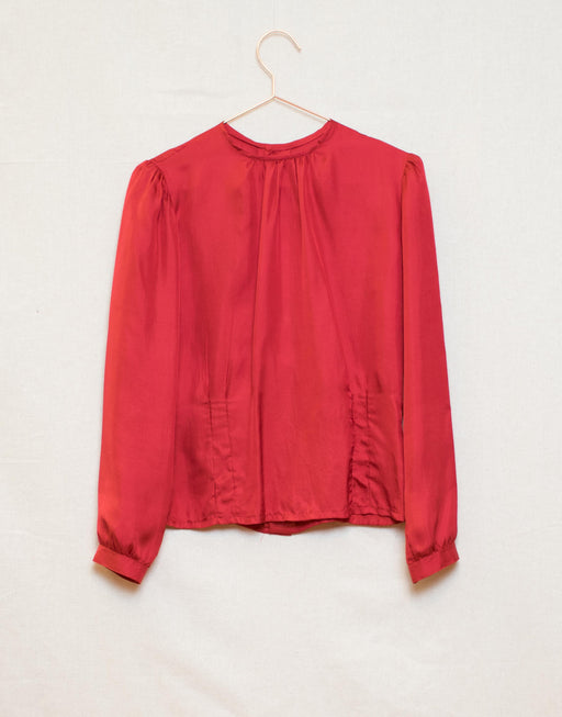 Fenn Wright & Manson - Red Silk Blouse