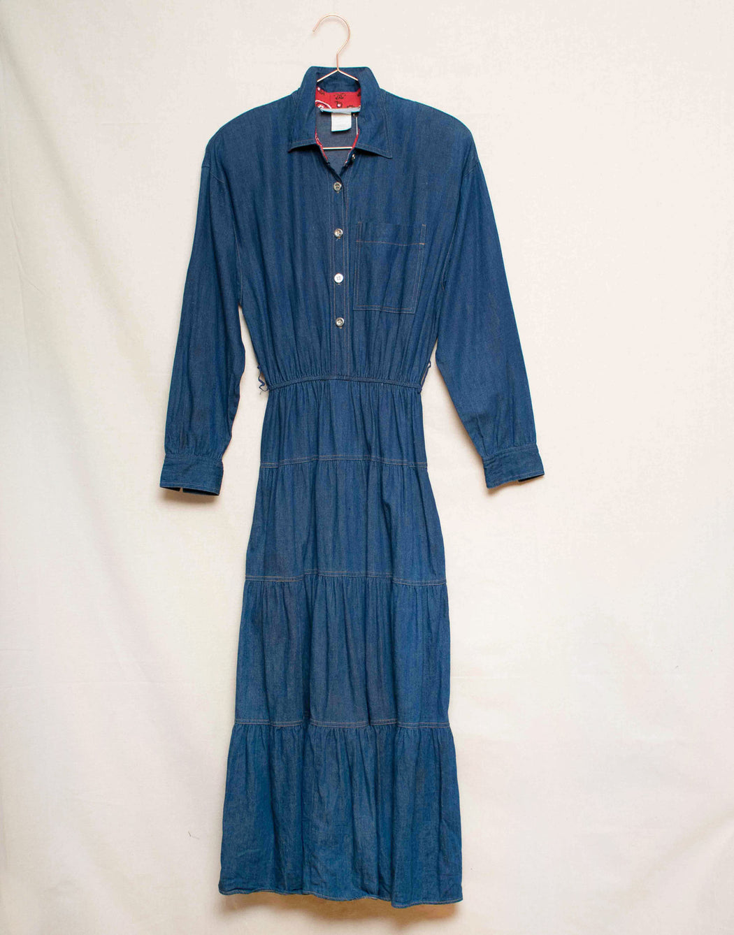 Carol Anderson Denim Dress