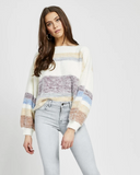 Gentle Fawn Stripe Sweater
