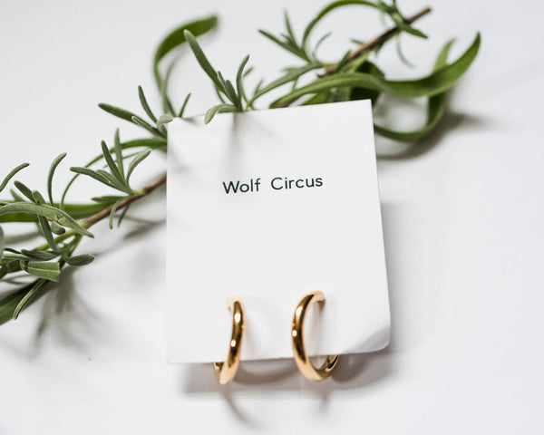 Wolf Circus double thick hoops