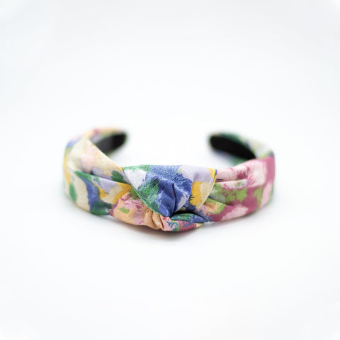 Knotted Headband - Revived Vintage Floral