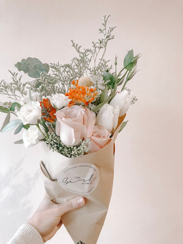 Weekly Pastel Posy Subscription