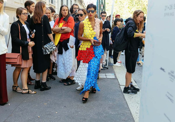 ON THE STREET AT MFW