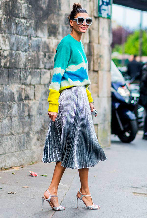 Five Ways With The Pleated Skirt