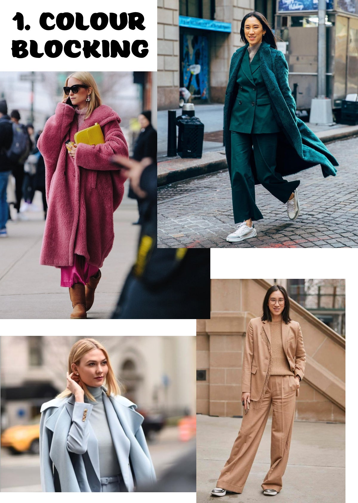 Colour Blocking NYFW Trend Report 2019