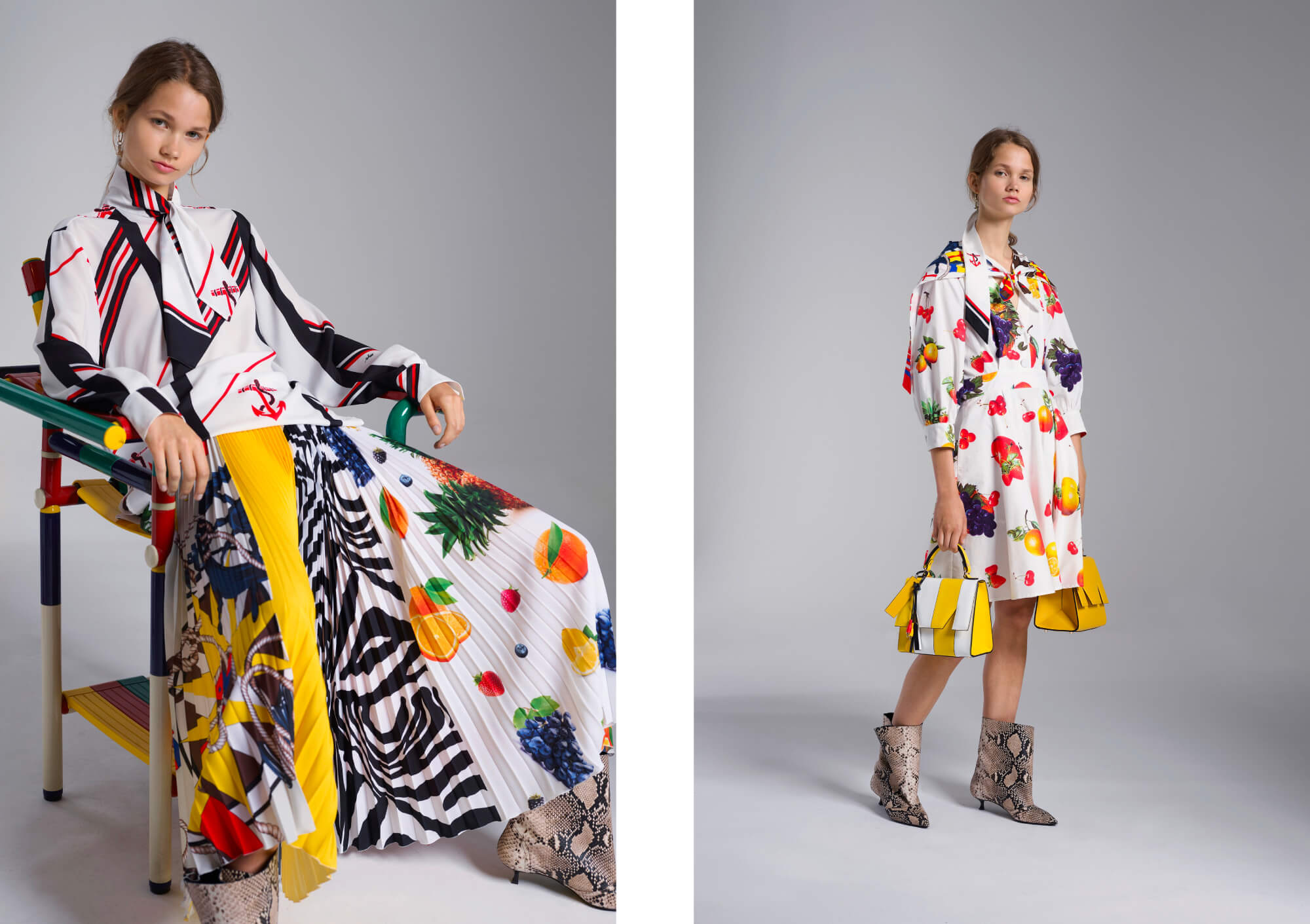 MSGM Resort 2019 Collection Grace Melbourne