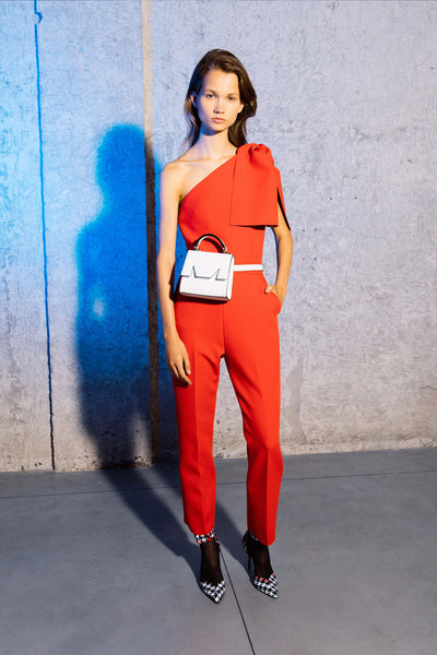 MSGM Red Jumpsuit Fashion Grace Melbourne