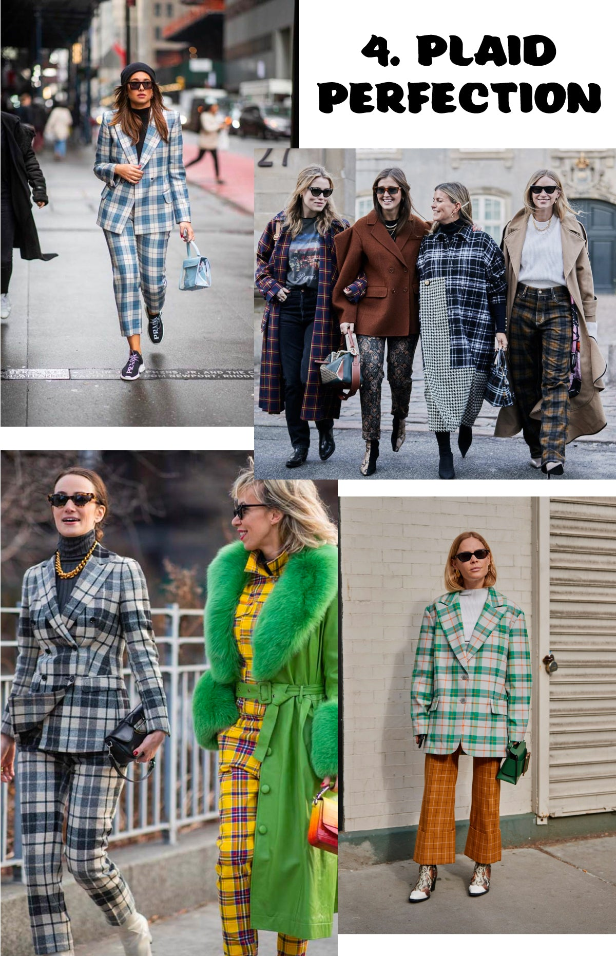 Plaid Perfection NYFW Trend Report 2019