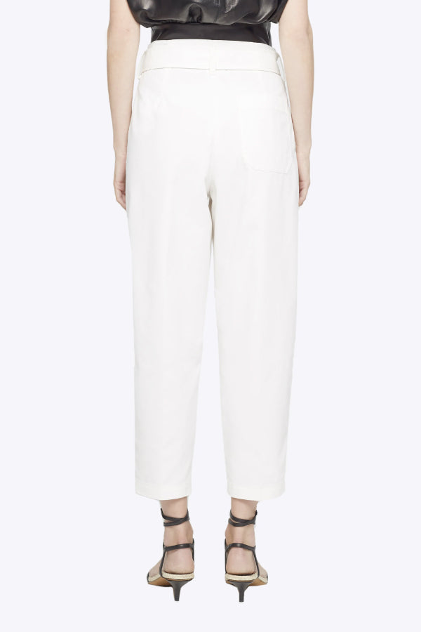 3.1 Phillip Lim P201-5427CNS Belted Utility Pant - Antique White Back