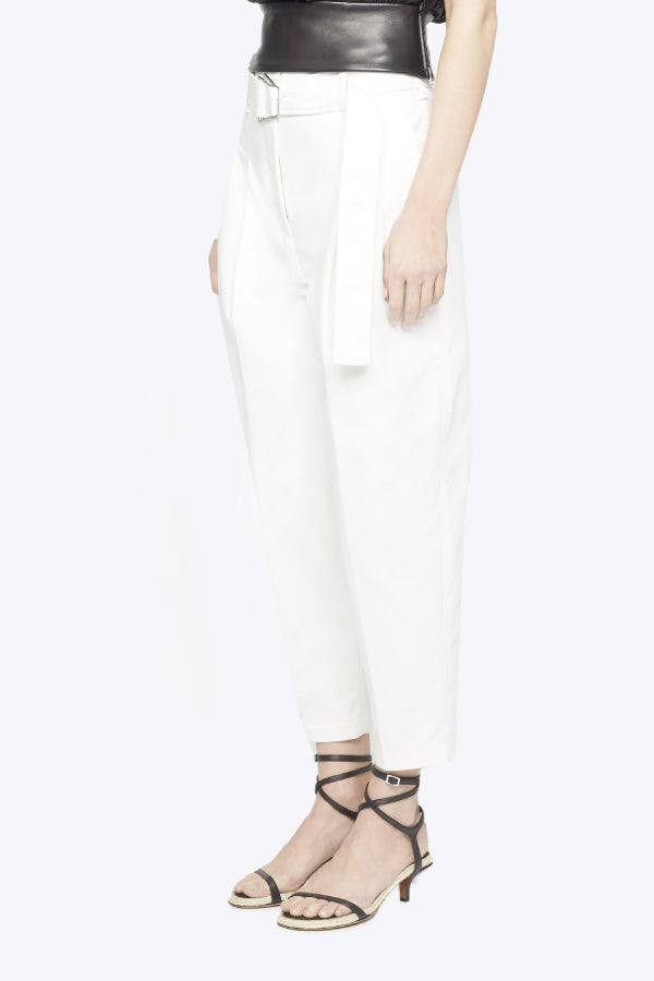 3.1 Phillip Lim P201-5427CNS Belted Utility Pant - Antique White Side