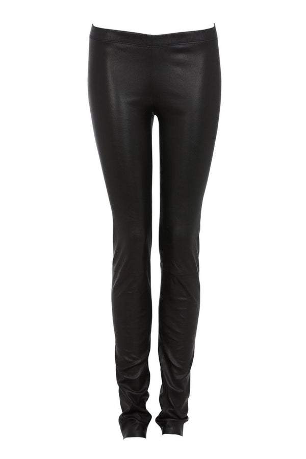 Ines Marechal Leather Legging - Noir (609697628213)