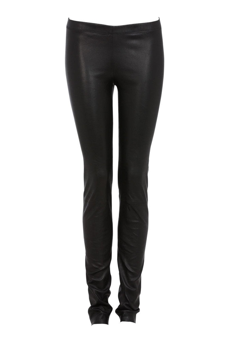 Ines Marechal Leather Legging - Noir