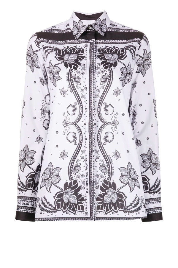 Golden Goose Natalia Shirt - White Foulard (4766661247111)