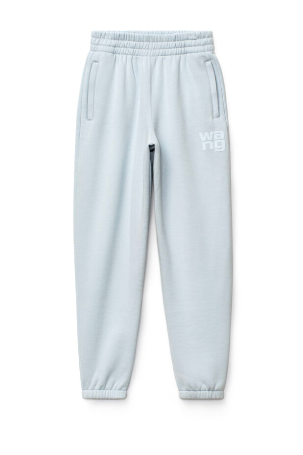 Alexander Wang.T 4CC1204061 Foundation Terry Sweatpant - Xenon Blue