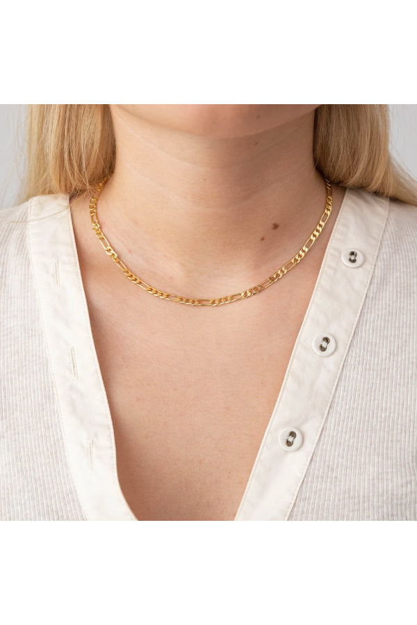 Anni Lu Figaro Necklace - Gold